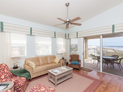 Photo for Top Floor Penthouse Oceanfront Beauty 461 - Best views in the community!!