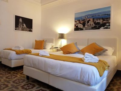 Photo for The Rooms of Piazza Cairoli, Luxury Triple Room