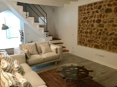 Photo for Lovely townhouse with pool in Pollensa, ref. 625