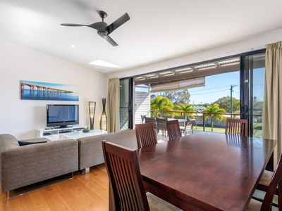 Photo for Unit 3 Rainbow Surf - Modern, double storey townhouse with large shared pool, close to beach and shop