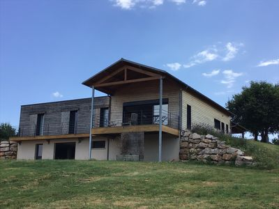 Photo for New: Ecological house overlooking the Figeac Valley