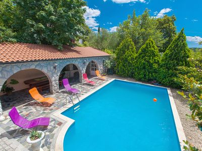 Photo for Holiday home with 4 bedrooms, 3 bathrooms and swimming pool