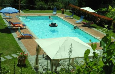 Photo for Holiday apartment Popiglio for 4 persons with 2 bedrooms - Holiday apartment in a farmhouse