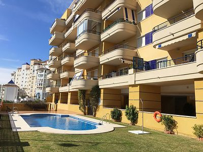 Photo for 2 bedroom Apartment, sleeps 4 in Estepona with Pool, Air Con and WiFi