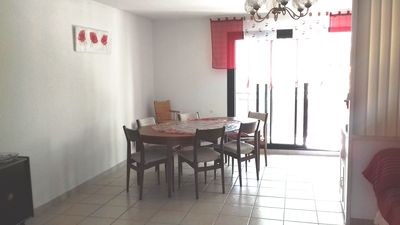 Photo for Spacious, crossing and bright apartment in the center of Narbonne + parking