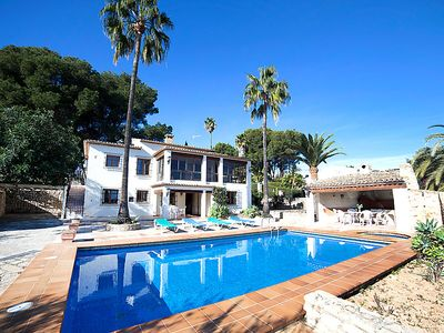 Photo for Vacation home Els Pins  in Calpe/ Calp, Costa Blanca - 10 persons, 5 bedrooms