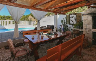 Photo for Cozy summer holiday house with the private pool and terrace