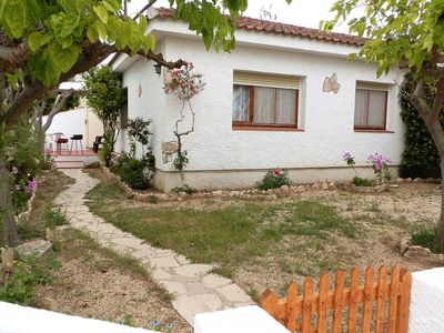 Photo for CASA JASMIN, Ideal house for your holidays near the sea, free wifi, pets allowed, dog's beach.