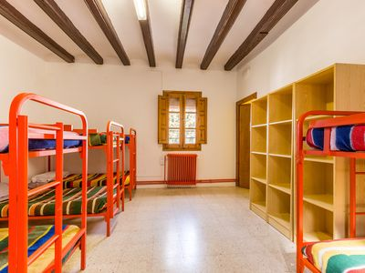 Photo for Alberg de Talarn - Argenteria - Group Room (10 adults)