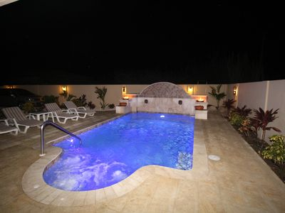 Photo for The Most Amazing Pool with Jacuzzi, Cul-De-Sac. Very private.