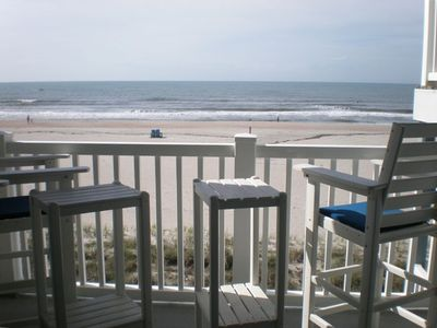 Photo for Oceanfront Condo with Pool & Hot Tub