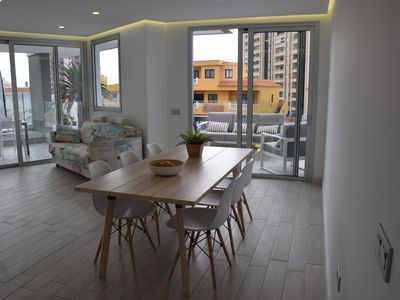 Photo for Bright and spacious apartmt with large terrace / Appartmt new and bright