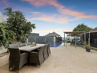Photo for Absolute Beachfront Home with pool and spa ideal for families