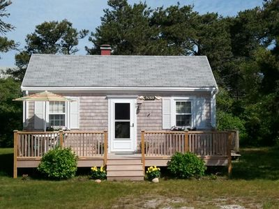 Photo for NEW LOOK 2020 - Classic 2 bedroom, 1 bath cottage. Great location on bike path.