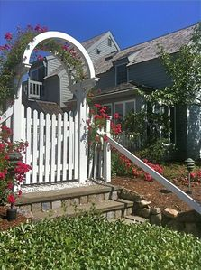 Photo for Fabulous Beach Cottage with Ocean Views and Steps to the Beach