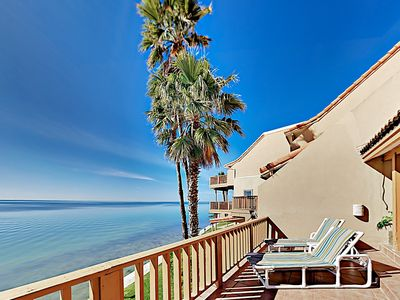 Photo for 2-Floor Condo w/ Stunning Bayfront Views & Private Balcony, Walk to Beach