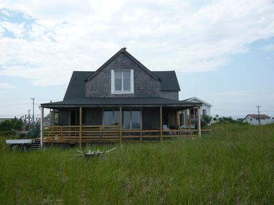 Photo for Charming Oceanfront Cottage, Very Quiet, With Wraparound Porch
