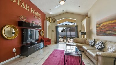 Photo for Welcome to The Jedi, 3 miles from Disney World, southfacing pool/spa, free wifi