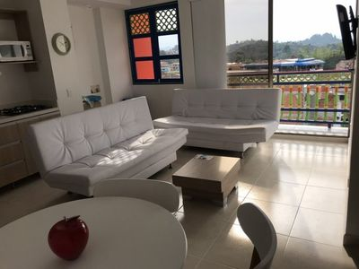 Photo for Hermoso Apartamento en Guatape 2 Habi