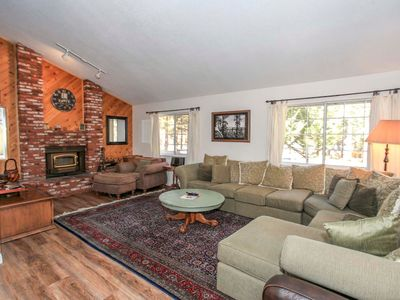 Photo for House in Big Bear Lake with Internet, Parking, Balcony, Washing machine (983632)