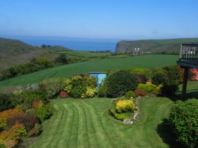 Photo for Hazeldene - Crackington Haven with stunning seaviews