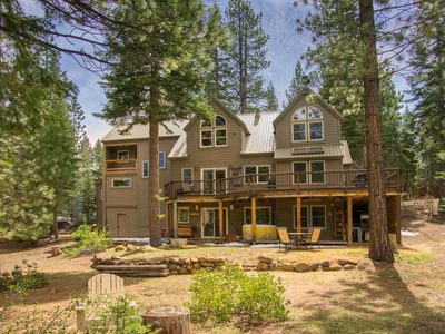 Photo for Northstar Luxury 4 bed/4 bath, pet friendly, hot tub, creek and golf views