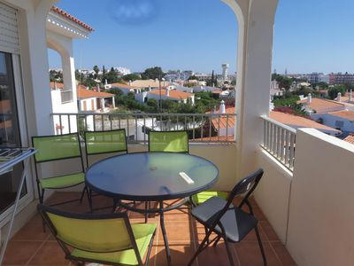 Photo for Apartment 4 people Albufeira 700m from the beach