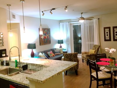 Photo for Luxury resort style 1Br with parking, pool, gym.