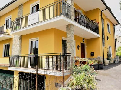 Photo for Spacious apartment on the ground floor in the center of Bossolasco, Alta Langa