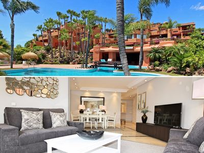 Photo for Exclusive property by the pool, 5*community, close to beach, Puerto Banus marina