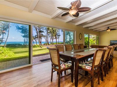 Photo for SPACIOUS BEACH FRONT HOME - Family Vacation or Special Retreat