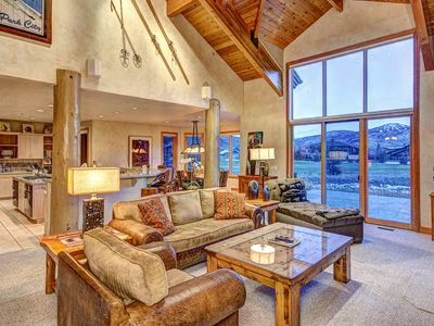Photo for Amazing condo with mountain views, upgraded throughout, HDTV, gourmet kitchen, hot tub!