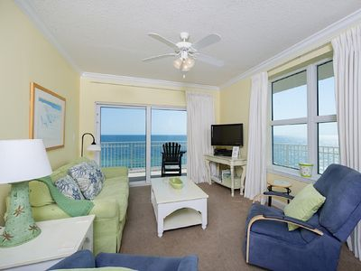 Photo for Perfect 2BR/2BA West Sunset Corner 2 Kings~ Includes Front Row Beach Service!