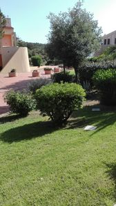 Photo for Sardinia Palau Costa Serena Village. Living room 2 double rooms 2 bathrooms kitchen p. car