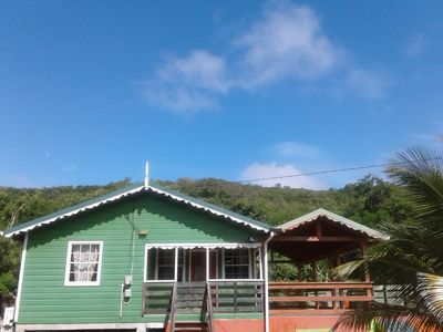 Photo for Seawind Cottage near Plantation Beach & Gros Islet-Authentic Caribbean Ambiance