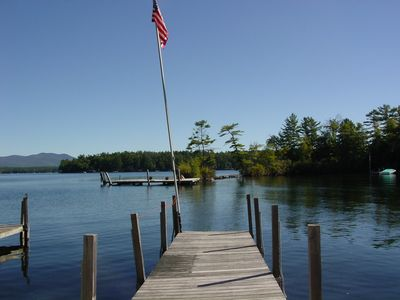 Photo for KON133Wf - Lake Winnipesaukee Sandy Beach