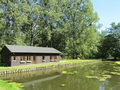 Photo for Comfortable holiday home at the edge of various private ponds with opportunity to fish