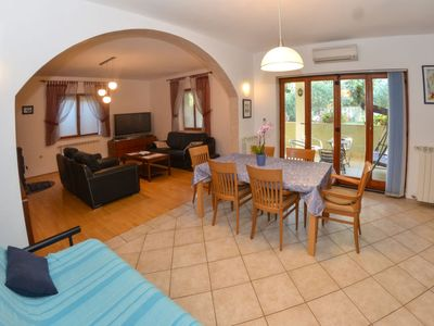 Photo for 3 bedroom Villa, sleeps 8 in Šišan with Pool, Air Con and WiFi