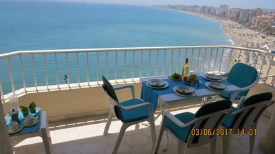 Photo for Ref: 257 - 2 bedroom apartment facing the beach on the 10th floor