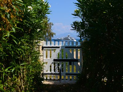 Photo for Lovely villa next to the sea,with private pool,nice garden and sea view.
