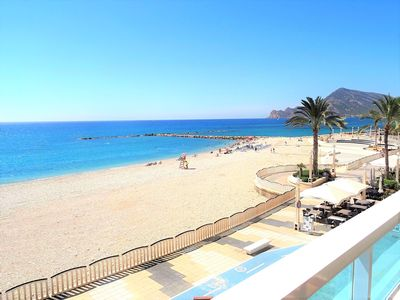 Photo for Altea -Seafront !!  3 bedroom apartment on the boulevard.