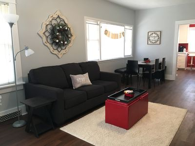 Photo for Fresh, clean, home close to UNL, arenas, concerts, and restaurants.