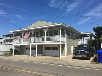Photo for Newly Renovated Oceanfront pet friendly classic beach cottage!