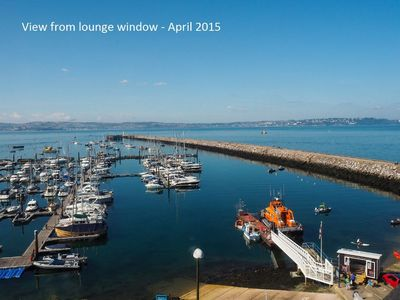Photo for Marina View - Brixham -  front row apartment with stunning sea views & parking