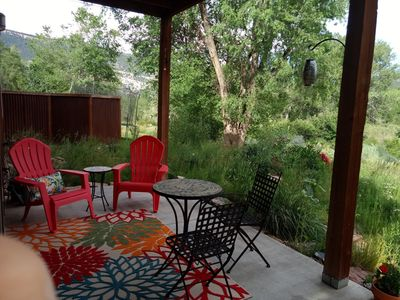Photo for Peaceful, Immaculate Modern Duplex facing Animas River & Oxbow Park/Preserve