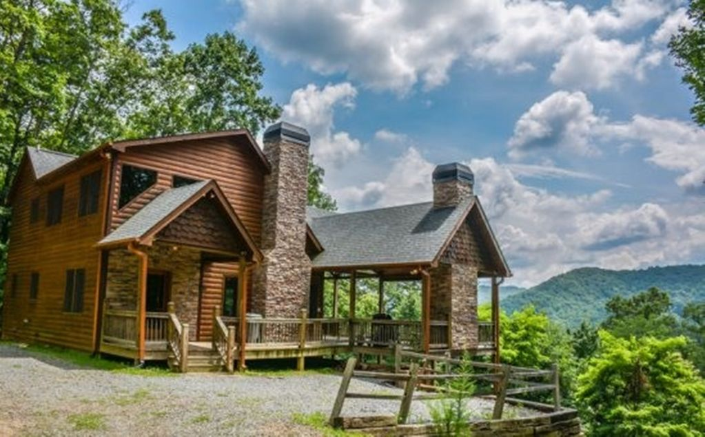 Dream catcher 3br 3ba cabin with beautifu vrbo for Rent a cabin in georgia mountains