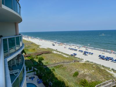 Photo for HUGE JULY DEALS! BEAUTIFUL 3 bedroom/3 bath oceanfront condo. GREAT amenities!