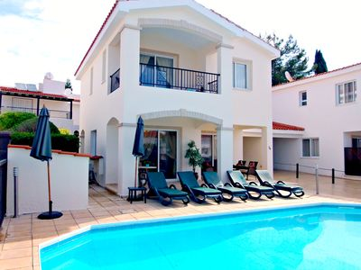Photo for Coral Bay - 5 Mins Walk to Beach - 3 Bed Villa with Private Pool