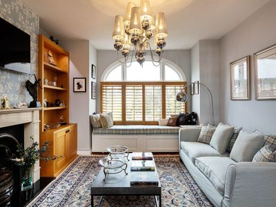 Photo for Eloquent 2BR Apartment in Fulham, Steps from the River Thames, by Veeve