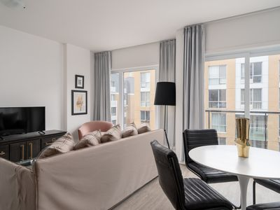 Photo for Dashing 1BR in Quartier des Spectacles by Sonder